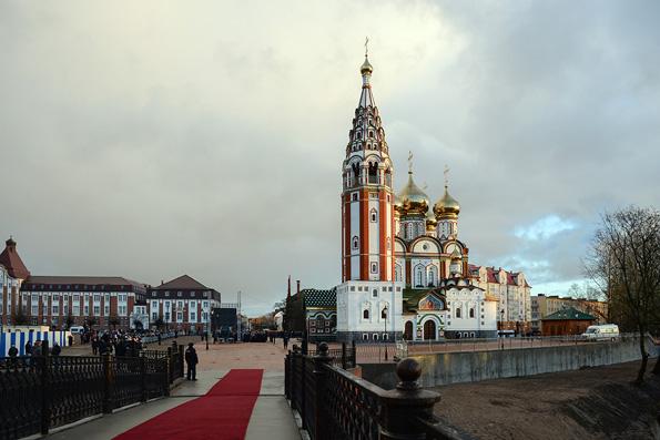Патриарх Кирилл освятил в Калининградской области храм-памятник героям первой мировой
