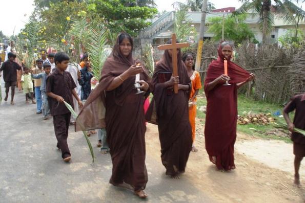 СМИ: Христиан в Индии с каждым годом становиться все больше