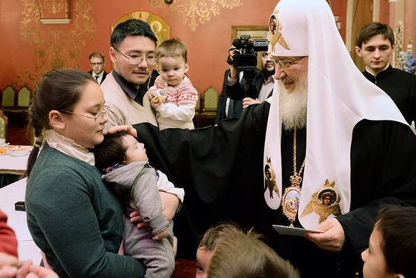 Отношение к семье – индикатор духовного состояния общества, — патриарх Кирилл