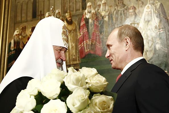 Владимир Путин наградил Патриарха Кирилла орденом «За заслуги перед Отечеством»