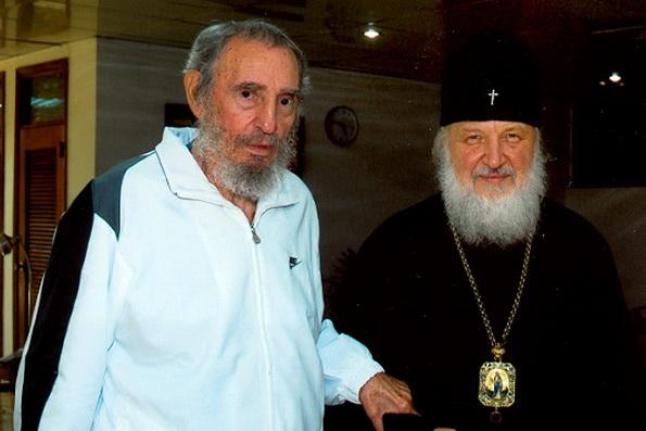 Переводчик Патриарха Кирилла рассказал о его последней встрече с Фиделем Кастро