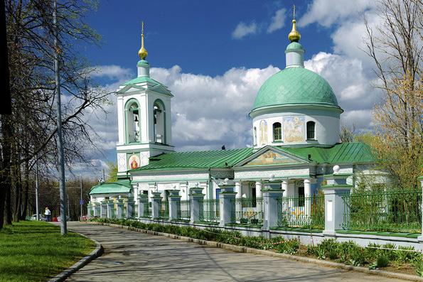 Церкви передали храм на Воробьевых горах, где молился Кутузов