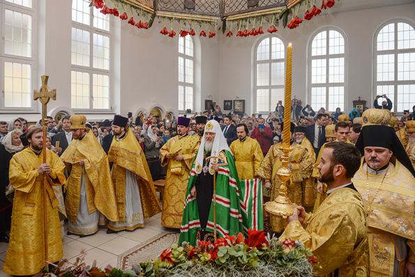 Предстоятель Русской Церкви возглавил торжества по случаю 80-летия русского прихода в Цюрихе