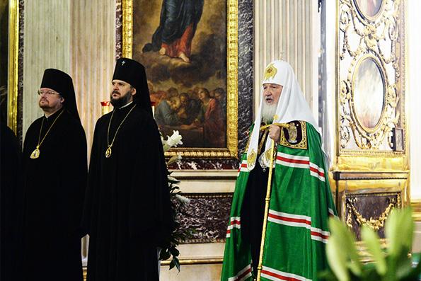 Патриарх рассказал о «печати великого города» Петербурга в своей судьбе