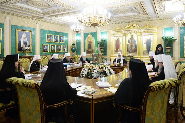 В Москве завершилось последнее в 2016 году заседание Священного Синода Русской Православной Церкви
