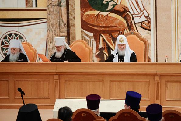 Патриарх Кирилл: Проповеднику не следует полагаться исключительно на вдохновение и риторические штампы