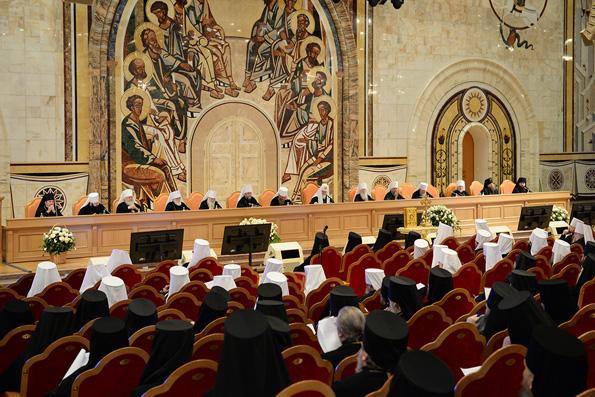 В Москве завершилась работа Архиерейского Собора Русской Православной Церкви