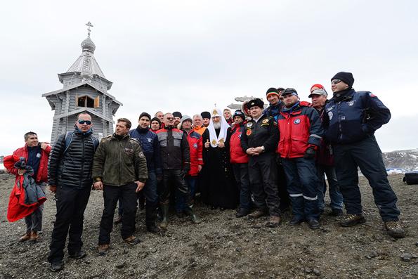 Антарктида — образ идеального человечества, считает Патриарх Кирилл