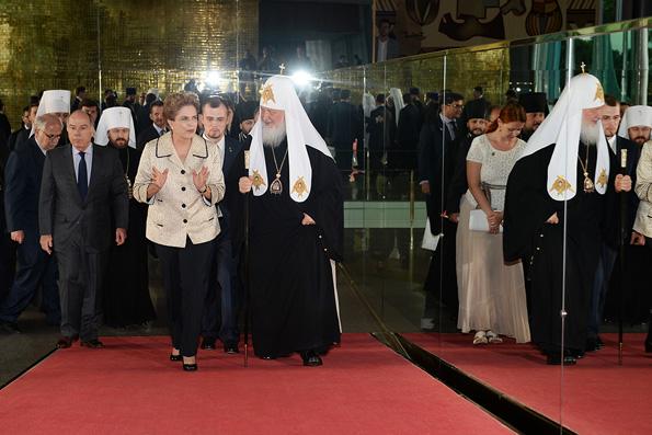 Патриарх Кирилл и президент Бразилии обсудили международную обстановку
