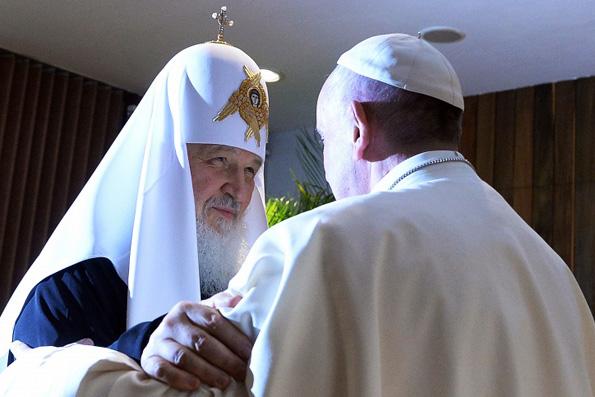 Патриарх Кирилл и Папа Римский Франциск приняли совместную декларацию