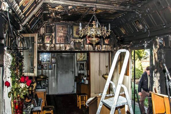 Владимир Легойда: Поджог храма на Украине — дело рук безбожников