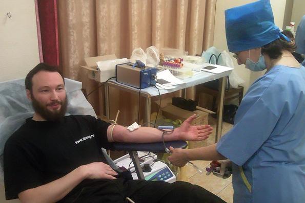 В казанском приходе преподобного Серафима Саровского состоялся день донора