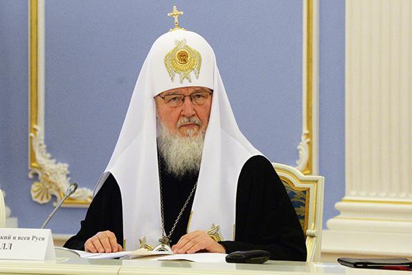 Патриарх Кирилл надеется, что поддержка Пантелеимонова монастыря продолжится