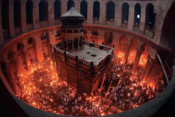 Часовню над Гробом Господним отреставрируют впервые в истории
