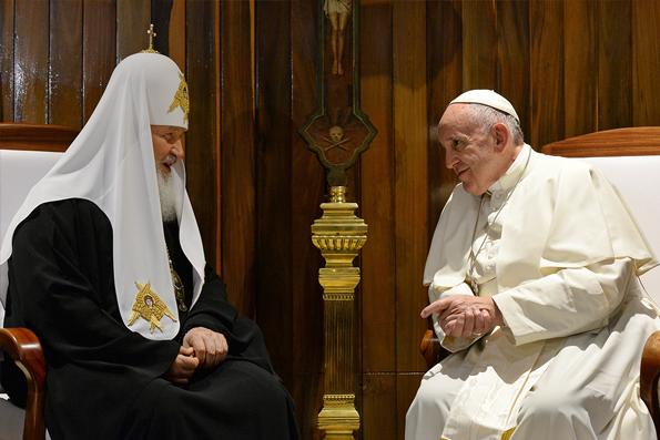 Опрос: более 60% россиян за развитие отношений между Русской Православной Церковью и Ватиканом