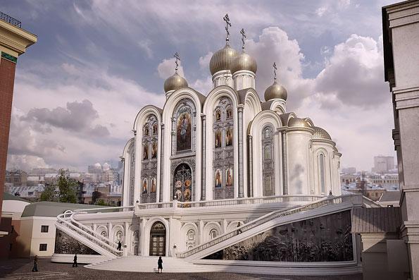 Храм Новомучеников Российских на Лубянке освятят в марте 2017 года