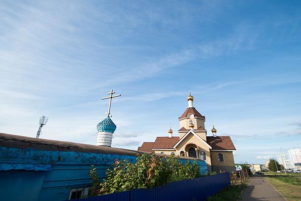 Новый храм Набережных Челнов примет православных верующих в праздник Пасхи Христовой