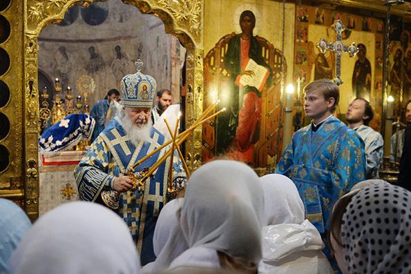 Патриарх Кирилл: те, кто сегодня говорит о свободе, ничего не знают о ней