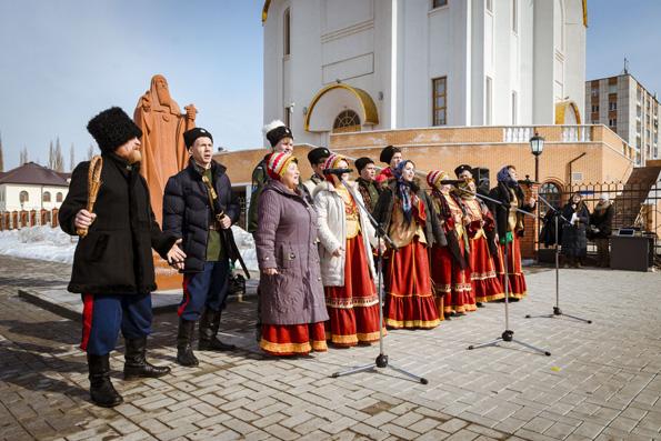 В Альметьевске отпраздновали Масленицу