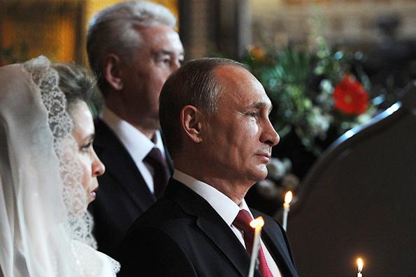 Владимир Путин поздравил православных христиан с Пасхой Христовой