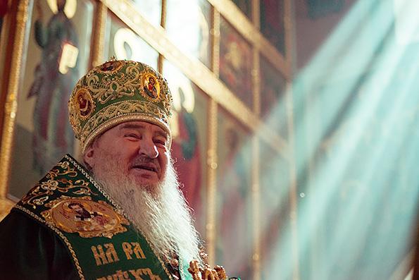 Проповедь митрополита Феофана в праздник Входа Господня в Иерусалим