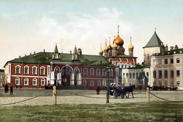 Археологи нашли в Кремле фундамент Чудова монастыря