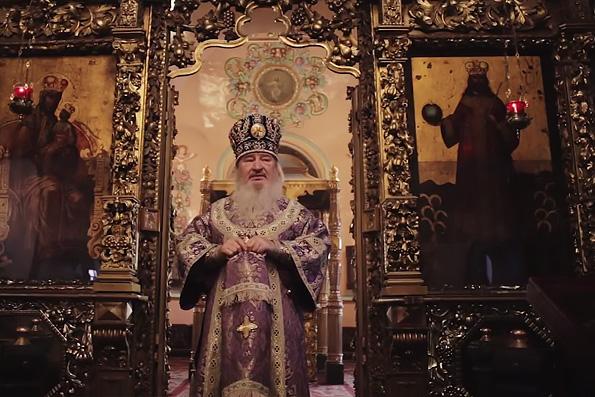 Проповедь митрополита Феофана в Неделю преподобной Марии Египетской в Петропавловском соборе Казани
