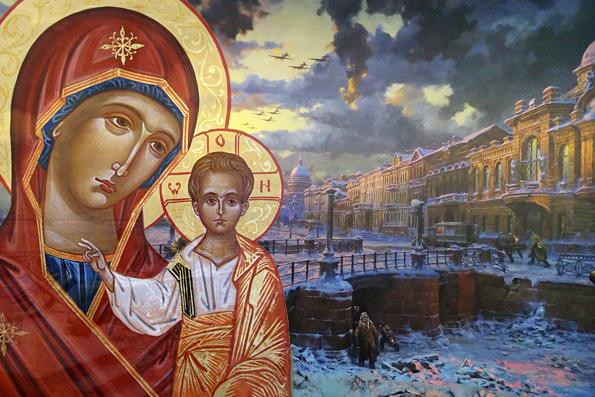 Чудеса Казанской иконы Богородицы в Великую отечественную войну