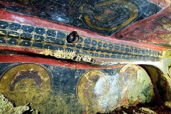 В Каппадокии найден византийский подземный храм, датируемый V веком