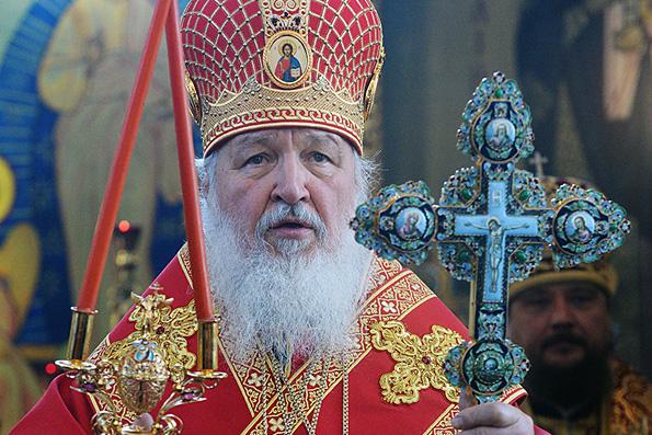 Патриарх Кирилл: война с терроризмом на Ближнем Востоке — это священная война