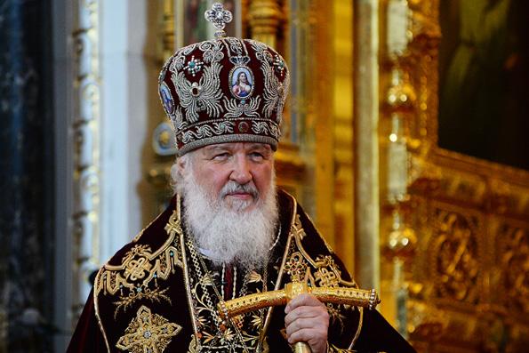 Патриарх Кирилл поблагодарил духовенство и верующих Русской Церкви за единство