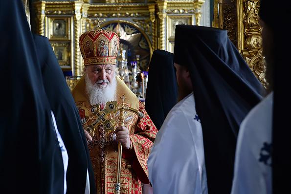 Патриарх Кирилл напомнил афонским монахам об ответственности за Православие
