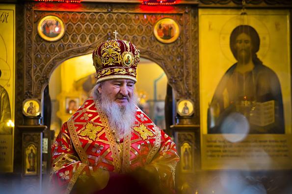 Проповедь митрополита Феофана в Неделю Антипасхи в казанском храме преподобного Сергия Радонежского