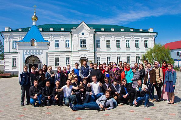 В Раифском монастыре прошел IV Съезд православной молодежи Татарстана