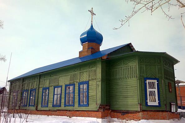 Храм святителя Николая Чудотворца, город Казань (поселок Константиновка)