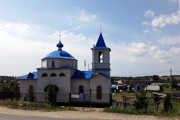 Храм Тихвинской иконы Божией Матери, Казань (Кадышево)