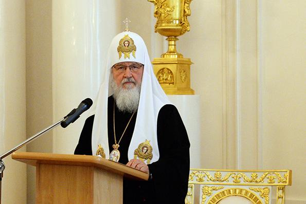 Патриарх Кирилл: на Украине захвачен 31 православный храм, 12 под угрозой