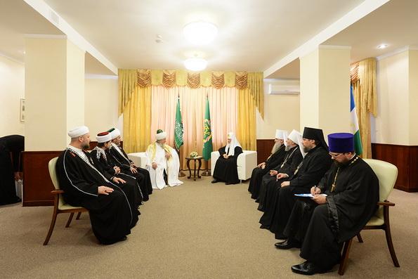 Патриарх Кирилл считает Башкирию примером межрелигиозного мира