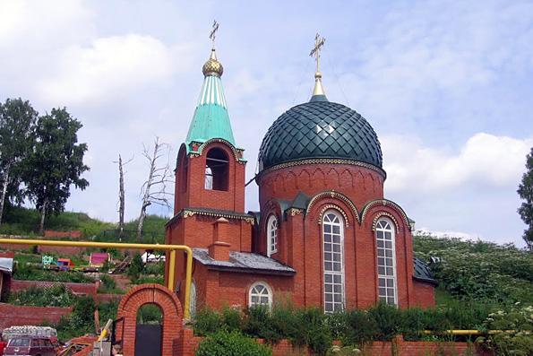 Храм Воздвижения Креста Господня, село Аки