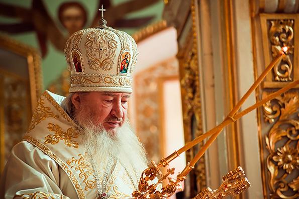 Проповедь митрополита Феофана в праздник Вознесения Господня в Никольском соборе города Казани