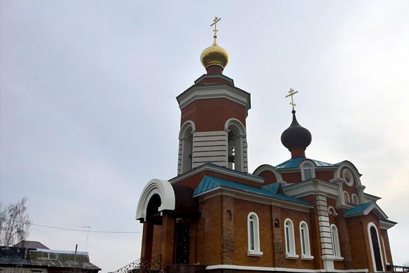 Храм Живоначальной Троицы, Казань (село Отары)