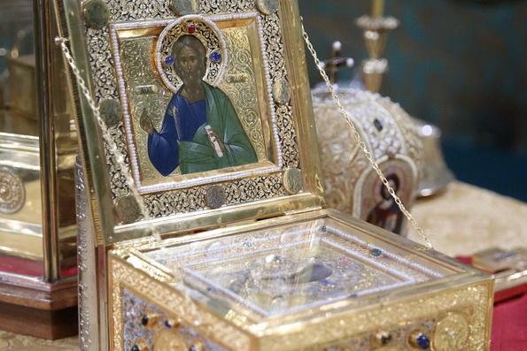 Ко Дню ВМФ в Крым доставят десницу апостола Андрея