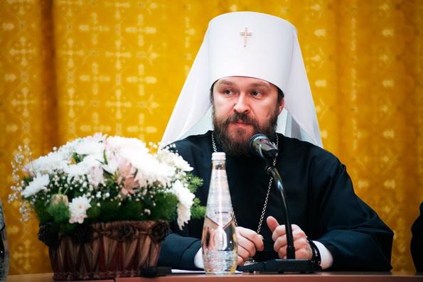 В Москве прошли церковно-общественные торжества по случаю 50-летия митрополита Волоколамского Илариона