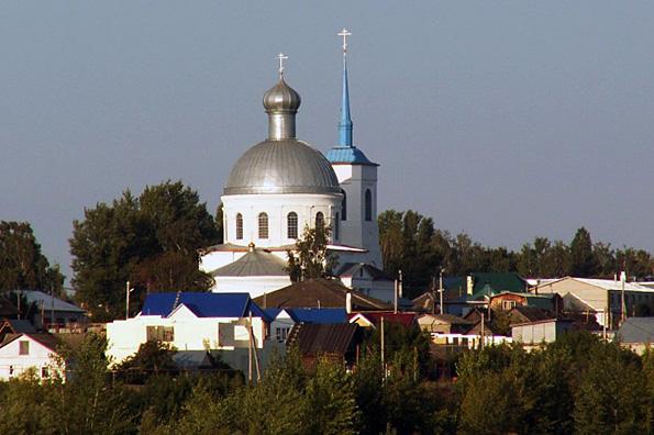 Храм Владимирской иконы Божией Матери, село Бетьки