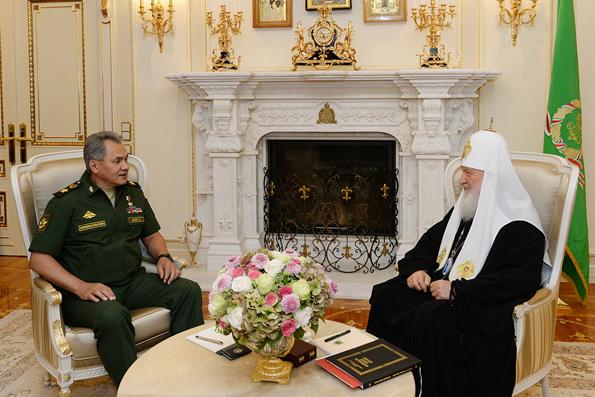 Патриарх Кирилл стал членом Русского географического общества