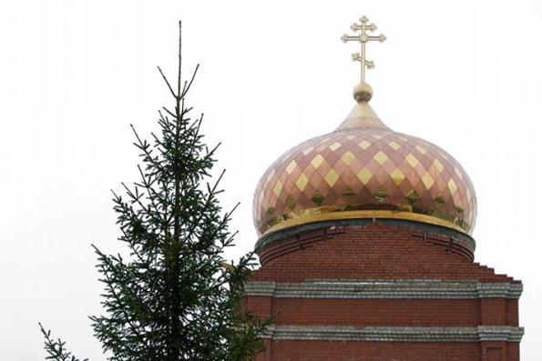 Храм преподобного Андрея Рублева, город Набережные Челны (поселок Орловка)