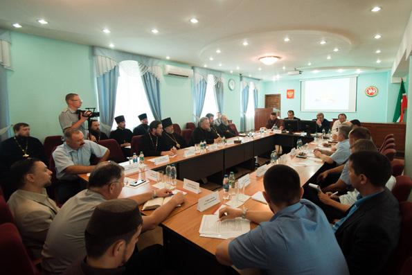 Представители Татарстанской митрополии выступили на межрелигиозной конференции, посвященной тюремному служению