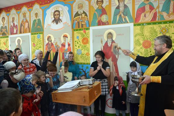 Воскресная школа подарок учителю в Валааме,Россоши