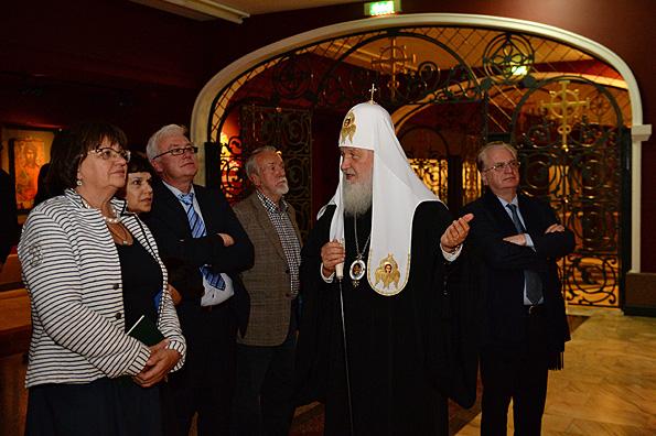 Церковь и музеи едины в деле воспитания души человека, — Патриарх Кирилл