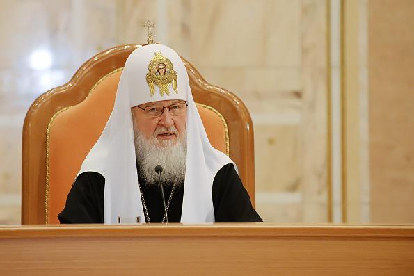 Патриарх Кирилл: «Афонское и русское монашество принесли обильный плод — великое число угодников Божиих»